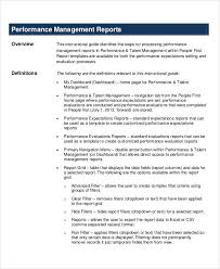 Sample Staff Evaluation Gorgeous 44 Performance Report Examples PDF DOC