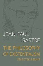 jean paul sartre existentialism in antiquarian collectable  new the philosophy of existentialism selected essays by jean paul sartre