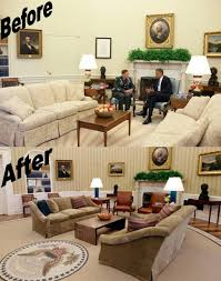 oval office decor. Wondrous Office Ideas Oval Rug Obama Decor Vs Trump