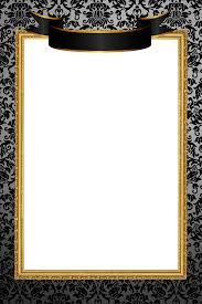 black and gold frame png. Plain Png Black And Gold Frame Png Mirror Templates Templates  Baroque  Inside Black And Gold Frame Png G