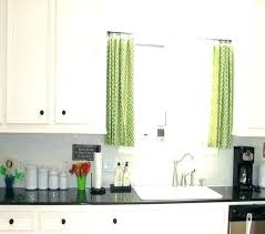 cafe curtains kitchen for with ideas 7 how to make pottery barn curtain sheer living room short