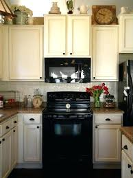 Image White Kitchen Black Appliances Excellent Antique White Kitchen Cabinets With Black Appliances In Designing Home Inspiration Youtube White Kitchen Black Appliances Nyreeleathercom