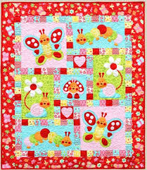 Kids Quilts: Fabric Patch: Patchwork Quilting fabrics, Moda fabric ... & Bugsy RED - by Kids Quilts - Patchwork & Quilting Pattern Adamdwight.com