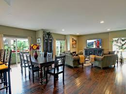 Full Size Of Living Room:stunning Open Plan Kitchen With Living Room Feat L  Shaped ...