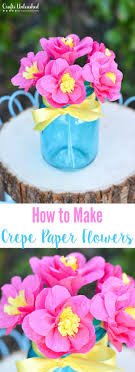 How to Make Paper Flowers: Tutorial - Crafts Unleashed