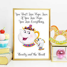 Beauty And The Beast Mrs Potts Quotes