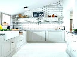 blue subway tile kitchen kitchens light ceramic white with baby glass charmi