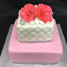 Elegant Sweet Sixteen Birthday Cake Gourmet Desserts Nj Local Bakery