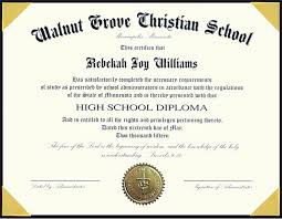 High School Diploma Templates High School Diploma Template With Seal
