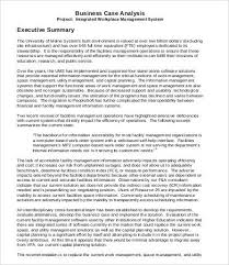 executive summary example business executive summary sample 9 free pdf word documents download