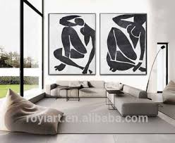 2 panel creative canvas wall art abstract modern black white oil painting on creative images wall art with 2 panel creative canvas wall art abstract modern black white oil