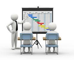 бизнесмен d представляя планово контрольный график Иллюстрация   бизнесмен 3d представляя планово контрольный график Иллюстрация штока иллюстрации 36450975