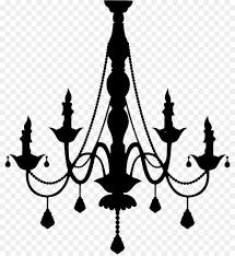 silhouette art candelabra wall decal sticker chandelier vector