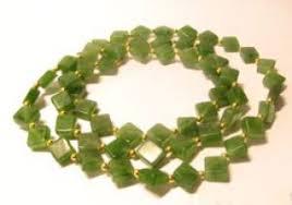 Купить <b>бусы</b> из <b>нефрита</b>, <b>зелёный</b>, № 12046