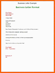3 Business Letter Format Example Attorney Letterheads