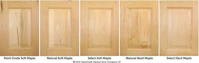 furniture grade wood. hard maple and soft cabinet door comparison by taylorcraft company furniture grade wood e