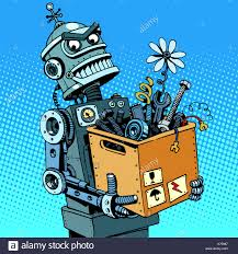 Evil Robot Designs Alien Lamp Evil Robot Stock Photos Evil Robot Stock Images Alamy