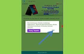 Klik link dibawah ini untuk install. Cara Mendapatkan Kupon Pulsa Gratis Di Samsung Gift 50rb Mudah