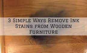 3 simple ways remove ink stains from