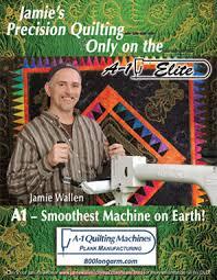 A-1 Quilting Machines ~ Plank Manufacturing & Jamie Wallen Adamdwight.com