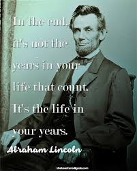 Quotes By Abraham Lincoln Classy Quote Of The Day Abraham Lincoln The Teachers Digest