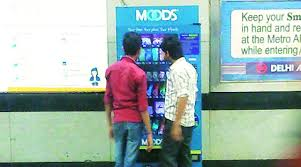 Vending Machines In India Awesome Love Calls At Metro Station The Indian Express