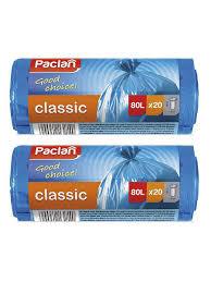 20% <b>Paclan</b> Мешки для <b>мусора</b> 80 л 70х90см <b>CLASSIC</b> 40шт