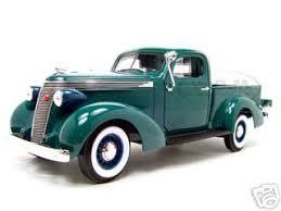 1937 Studebaker Pickup Express Green 1/18 Diecast Model Car Road ...
