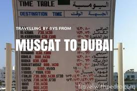 by bus from mu to dubai timetable s 2018 travel with pedro