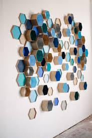 geometric hexagon box wedding backdrop for d wall art home decor new 3d art for