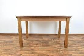 vintage danish extendable dining table 1 extended tables round melbourne