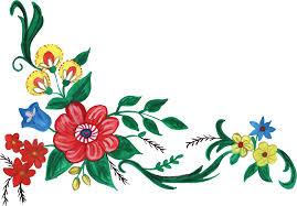 png file size flower corner design