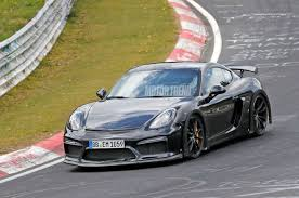 2018 porsche 718 spyder.  porsche new porsche 718 cayman gt4 seen testing on the nurburgring  motor trend with 2018 porsche spyder