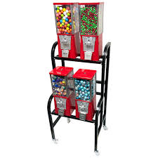 Bulk Vending Machine Candy Stunning Buy Eagle 48 Unit Gumball And Candy Bulk Vending Rack Vending