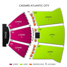Caesars Atlantic City Venue Seating Chart Thorough Caesars Atlantic City Show Seating Chart Caesars