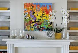 decorating mantles fireplace surrounds mantel artwork mantle art ideas over