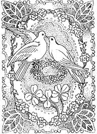 Small Picture Peace and Love Coloring Pages Doves Kissing in Peace and Love