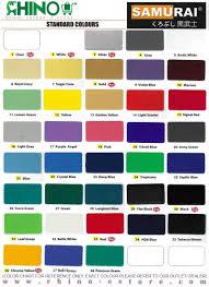 Samurai Spray Paint Colour Chart Samurai Spray Paint Standard Colour No F2 Flat White