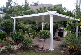 3 insulated patio cover with santa fe trim kit and tapered fiberglass columns