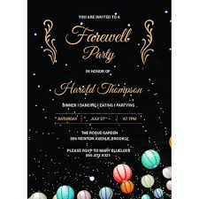 Free Going Away Party Invitations Free 24 Farewell Party Invitation Designs Examples In Psd