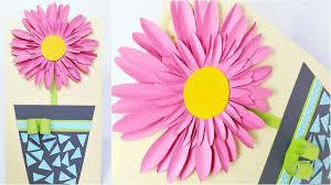 Floral Birthday Flowers Card Design Ideas Diy 3d Handmade Cards For Birthday Tutorial Step By Step