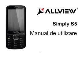 Allview Simply S5 Manual