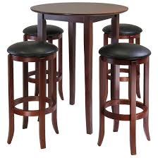 winsome fiona 5 pc square pub table set 196926