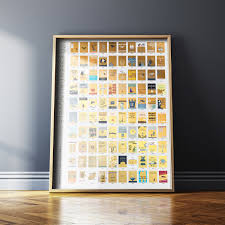 Pop Chart 100 Essential Novels Out Of Stock 100 Essential Books Gold Vintage Scratch Off
