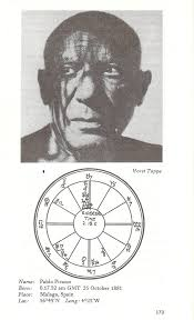 Pablo Picasso Astrology Chart Lookit All That Taurus Flickr