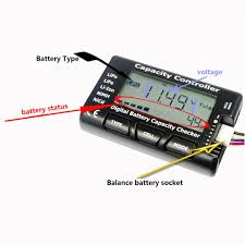 <b>Universal Rc Cellmeter-7</b> Digital Cell Battery Capacity Checker-buy ...