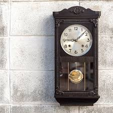chime clock instructions setting time