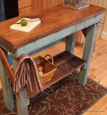 amazing rustic kitchen island diy ideas 6