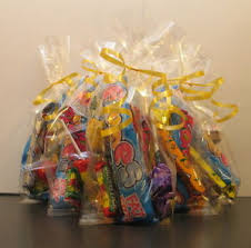 image is loading 80 x clear cellophane sweet bags party bags