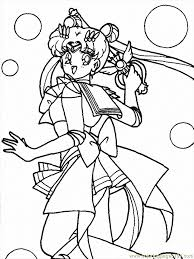 Small Picture Sailor Moon Coloring Page Free Sailor Moon Coloring Pages